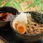 香味つけ蕎麦 七並 - よくばりつけ蕎麦 1000円