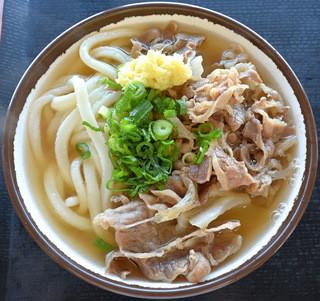さか枝製麺所 仏生山店 - 肉うどん