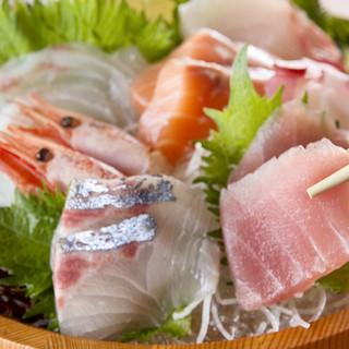 瀬戸内の漁場から直送される新鮮な魚貝料理が自慢♪
