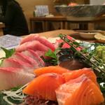 日本酒バル Chintara - 刺身5点盛り