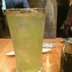 日本酒バル Chintara - 緑茶ハイ