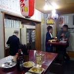 徳多郎 - オープンの夜。夜7時ごろ。