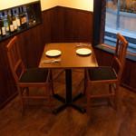 池尻×Grande Ponte - 2名テーブル席