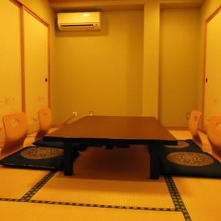全室個室で、会食・接待・法事・慶事などにおすすめ