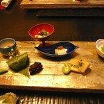 ダイニング和香葉 - 料理写真:前菜(旬菜の盛り合わせ9種)
