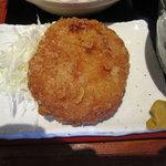 えんざ - えんざの定食「メンチカツ」