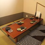 旬彩 伍合 - 完全個室。通常4名様までですが、6名様でもOK(狭くなりますが)。