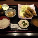 おはな - カキフライ定食¥880