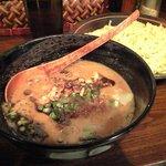 麺屋 龍の家族 - 黒虎(黒豚骨つけ麺)