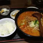46911576 - 担々麺セット 650円(税込)