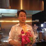 ラーメン食堂 一 - H.28.1.29.昼 内藤オーナー、6周年おめでとうございます♪【掲載許諾済】