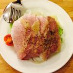 つばめグリル キュービックプラザ新横浜店 - 自家製ハムとレタスのサラダ 580円(外税)