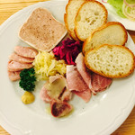 つばめグリル キュービックプラザ新横浜店 - 豚肉盛合せ 980円(外税)
