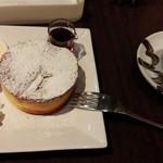Cafe Miyama - パンケーキ メープルシロップがけ セット