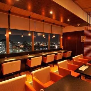 ホテル「チサングランド長野」最上階からの絶景を眼下にお食事を