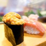 大和寿司 - 雲丹と大トロ?