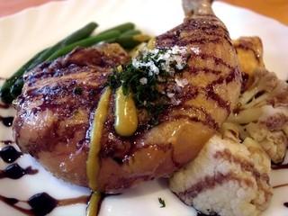 テート・ア・テート - 若鶏のロースト:美味いよ