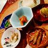コノ花まひろ - 料理写真:お通し ・ちょろぎの酢漬 ・新牛蒡の素揚 ・自家製ちりめん山椒とクリームチーズ ・セロリときゅうりのきんぴら ・焼き鯖寿司 ・ほおずき