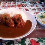 パルフェ ムン - 料理写真:日替わりランチ(チキンカツカレー)