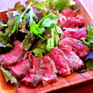 一番人気メニュー!牛肉のタリアータ