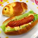 バーゼル - 料理写真:ドッグ、クリームパン