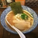 和伊まる - 濃厚煮干し鶏白湯そば780円也