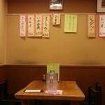 つるかめ食堂 - 店内 2016.1