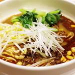 喜臨軒 - 担々麺 4種ナッツと自家製辣油で
