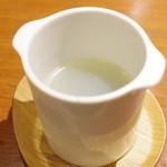 喜臨軒 - シジミと青海苔のスープ