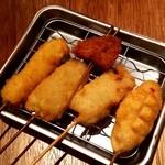串かつ でんがな パオレ南大沢店 - 串かつ 肉5本セット