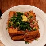 串かつ でんがな パオレ南大沢店 - 厚揚げ豆腐
