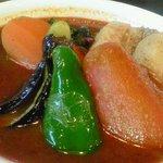 木多郎 - 角煮のカレー