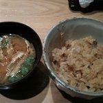 4695976 - きのこご飯&味噌汁