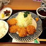 とんかつ かつ○ - 料理写真:ヒレかつ定食1580円