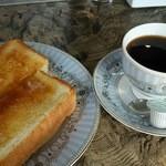 喫茶がんび - モーニング(コーヒー)