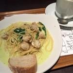 カフェ アロマ - パスタランチ¥980