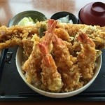 お食事処 はくさい - 激盛り穴子丼¥1,510