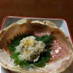 やぐら鮨 - 蟹味噌
