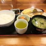 46956404 - 塩サバ定食(\500)
