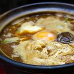 めん処とよしま - 料理写真:みそ煮込みうどん
