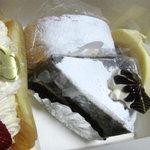 長生堂寺嶋菓子舗 - 4個買いました:2010年8月