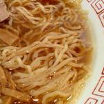 中華そば 幸貴 - 麺