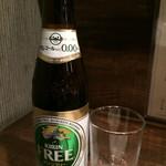 とりのとりこ - ノンアルコールビール(¥420)