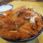 天元豚とんかつ浜 - かつ丼800円アップ