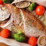 ダイニング 晴~はれる~ - 本日の魚オーブン焼き