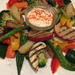 46961785 - 温野菜のグリル