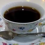 茶房本社 - 朝定食 茶粥(500円)・コーヒー