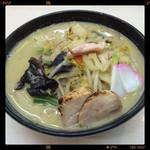 日の出らーめん 炎上 - 鶏ちゃんぽん 820円