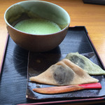 ジップカフェ - お抹茶¥500