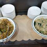 榮鳳 - 惣菜(ザーサイ・もやしの和え物)無料